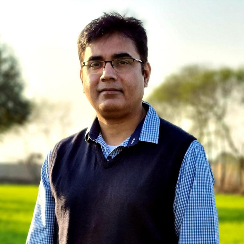 Dr. Khurram Nafees at Amanat Eye Hospital